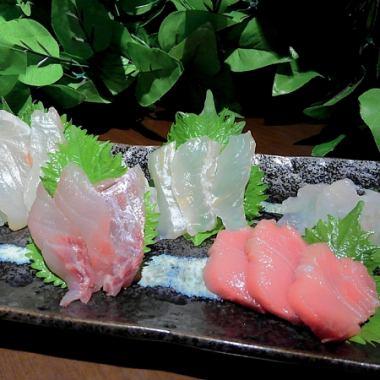 【我在海鲜上难以忍受♪】海恐龙套餐⇒6道菜/ 1980日元(不含税)