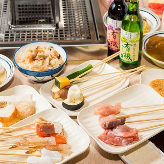 高田馬場駅前!BIGBOX9Fで利便性◎ビュッフェスタイルで串揚げなど食べ放題!