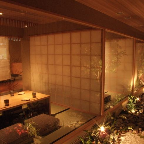博多站Chikushi立即出口。氛围像京都的餐厅。