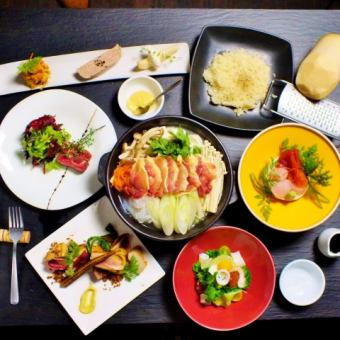 【Ju Jiru Favorite Course】 2H Drinking + 6 items 4000 yen! Also fluent in Shonai area ☆