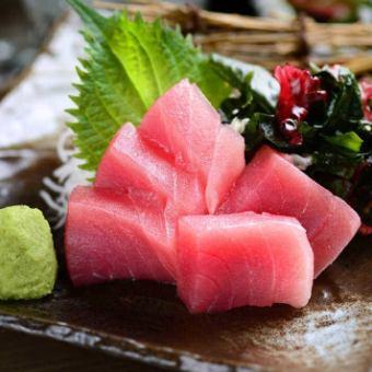 제철 생선 사시미
