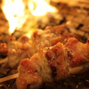 Nagoya Cochin also skewers / Nagoya Cochin skewer skewers