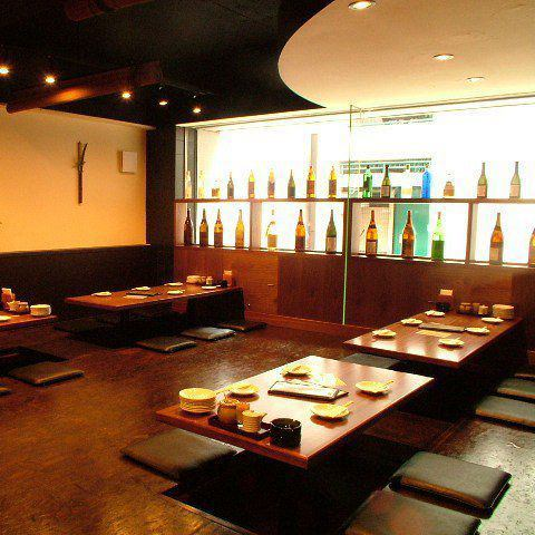 Course 2980 yen ~ Drinking 180 minutes extended Yes! 14 ~ 20 people with excavation type private room Yes