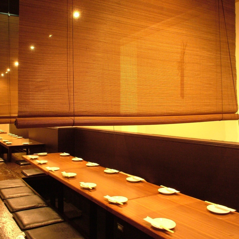 20 ~ 25 people possible ★ Our shop has a partition in every seat basically any number of banquets can be accommodated.We will prepare to meet your needs ☆