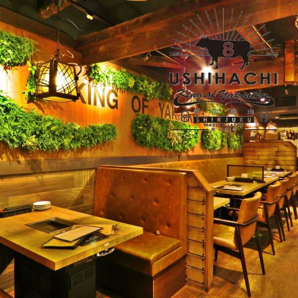 The interior is a casual and easy-to-go space easily in a fashionable and calm atmosphere.Very comfortable, please enjoy your meal and sake slowly and have a pleasant time