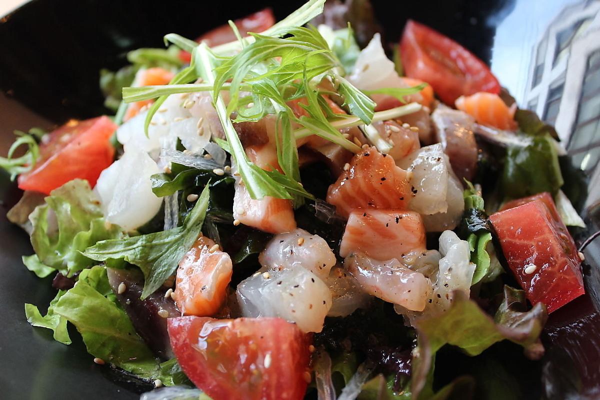 三陸特色海鮮沙拉