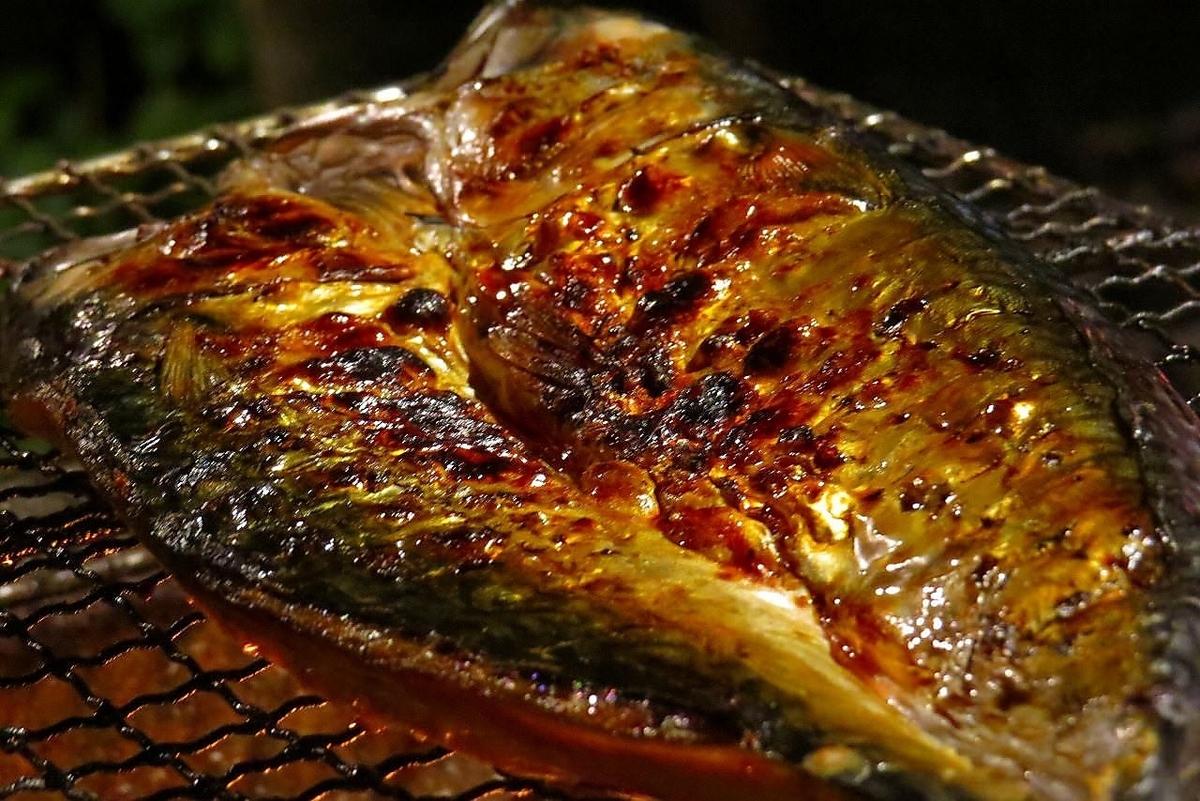 鯖魚麵粉乾燥過夜