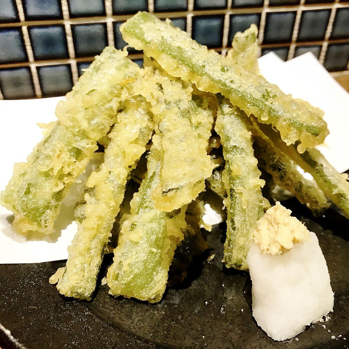 天婦羅乾海藻