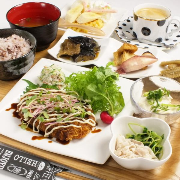 Volume full marks, Great satisfaction ♪ Reservation required 【Lunch course】