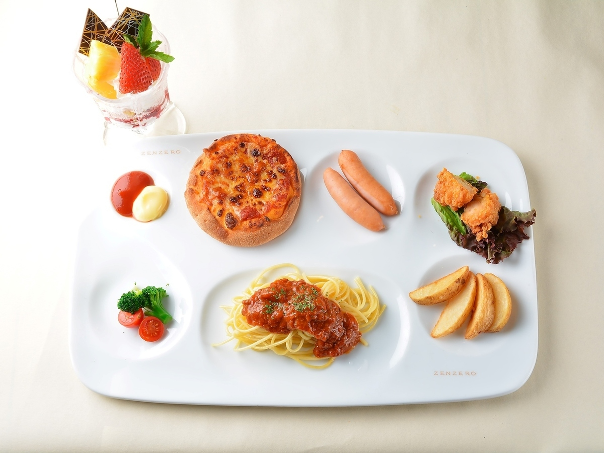 Children's Plate (Plate & Drink Bar & Parfa) 11: 00 ~ 22: 00 * Age 7 years old