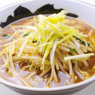 岡山特產黃韭菜拉麵