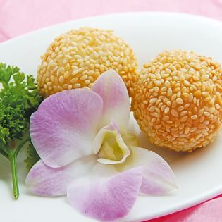 Fried sesame dumplings (2)