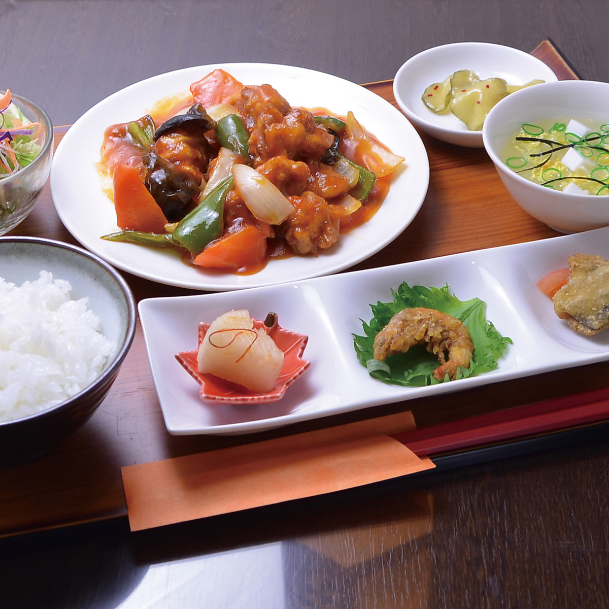 ○ Lunch to choose