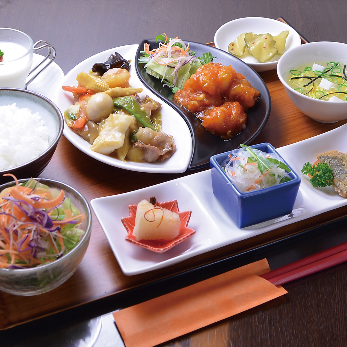 ○ Special selection Chinese set