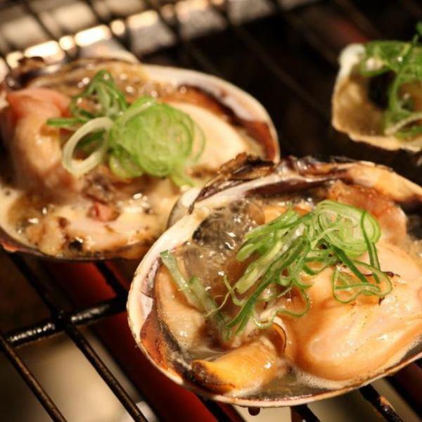 旬の焼き魚・貝