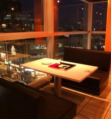 【冬季限定♪】全コース鍋食べ放題!!夜景の見えるオシャレ空間☆