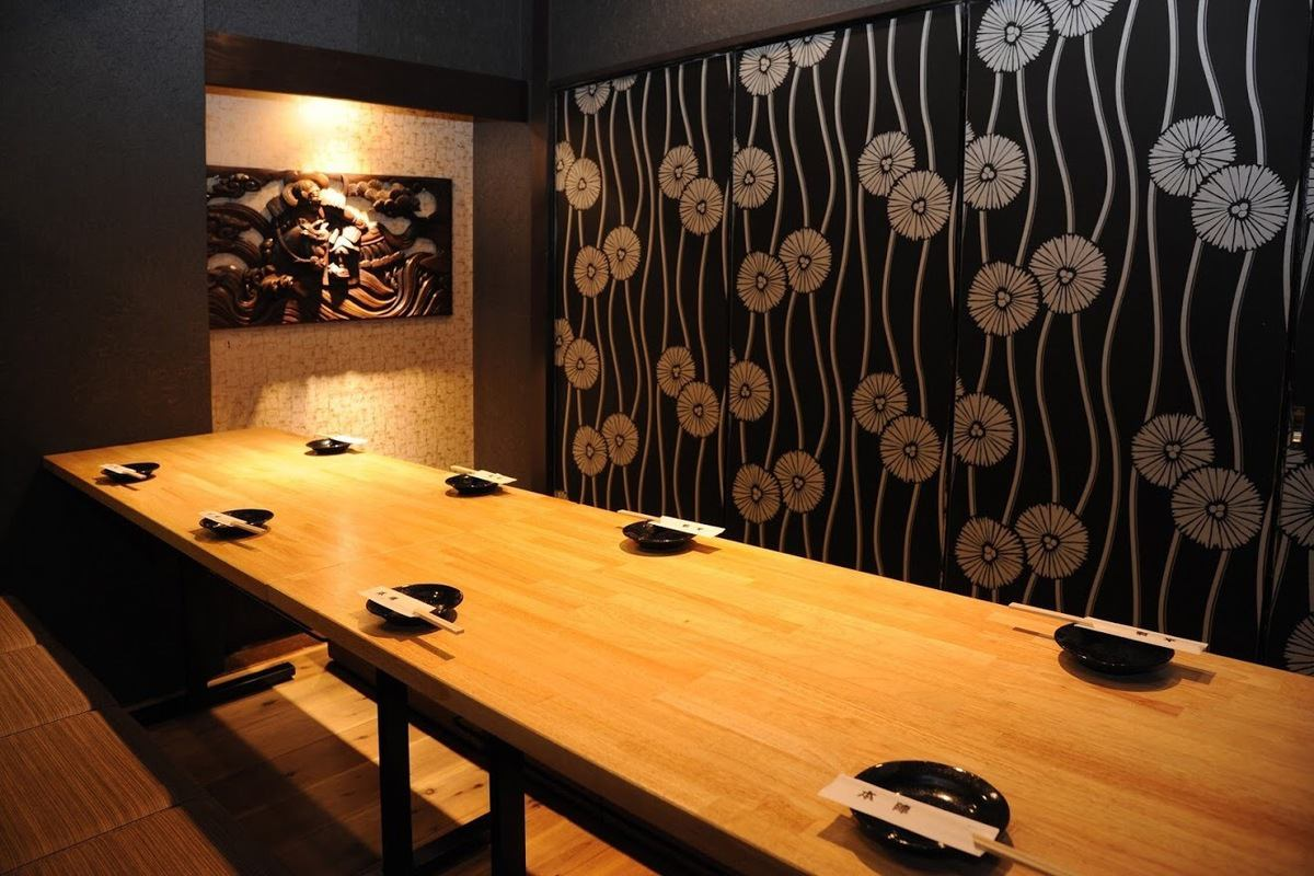 Even if it says anything, the private room of Honjin is very popular! There are various kinds of large and small such as table private room, private room of sofa, private room of Oshiki.