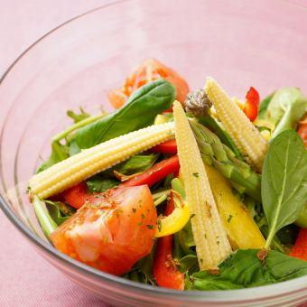 Seafood Sanpo Soy Sauce Salad