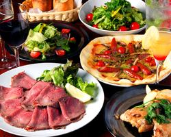 ◆学生有限公司!特许课程2800日元◆软饮料120分钟饮用+菜肴7项☆饮水器+ 480日元