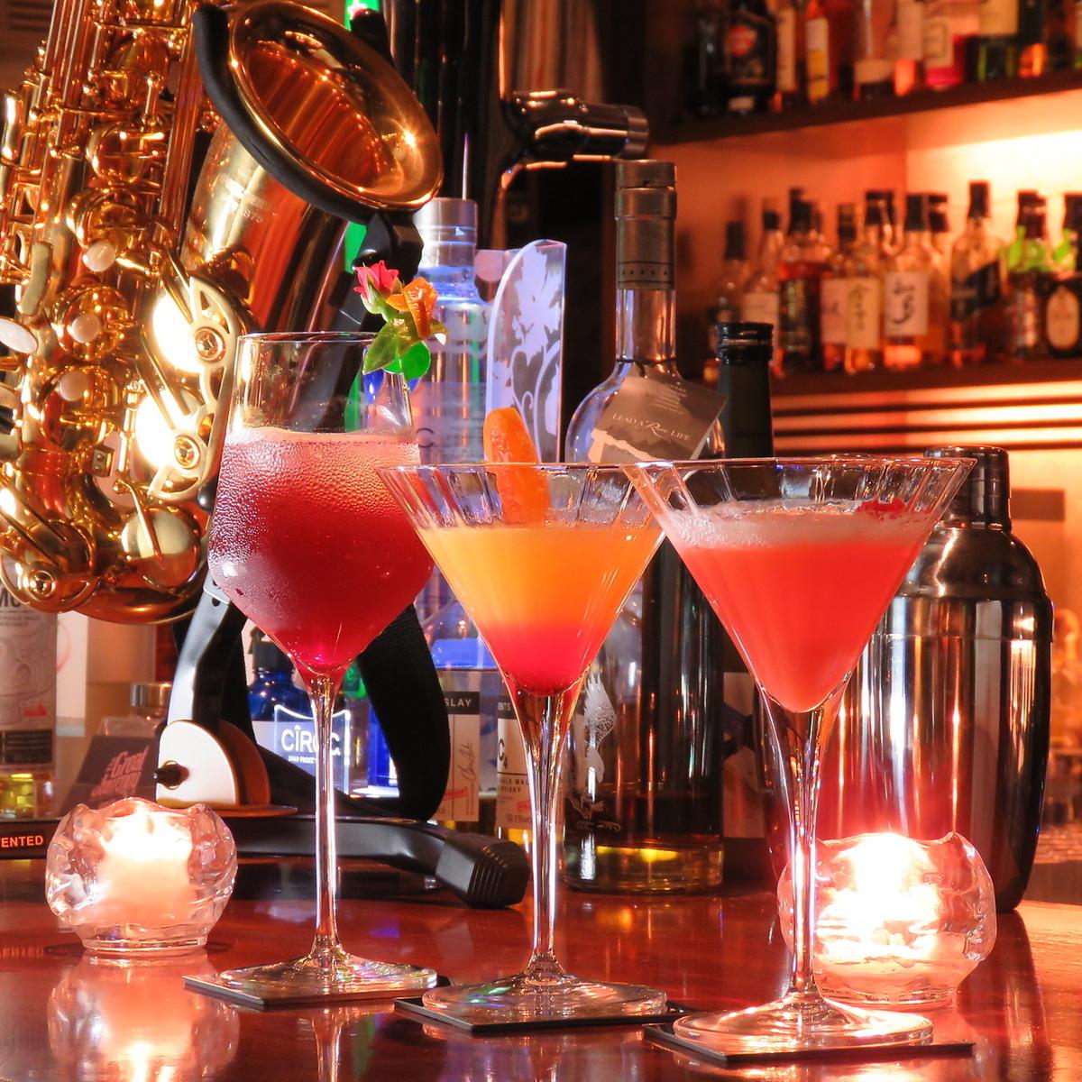 Female Popular Cocktail Enriched