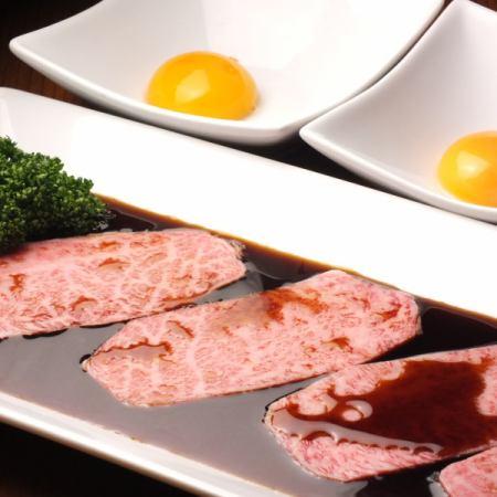 日本和牛黑色牛像涮锅