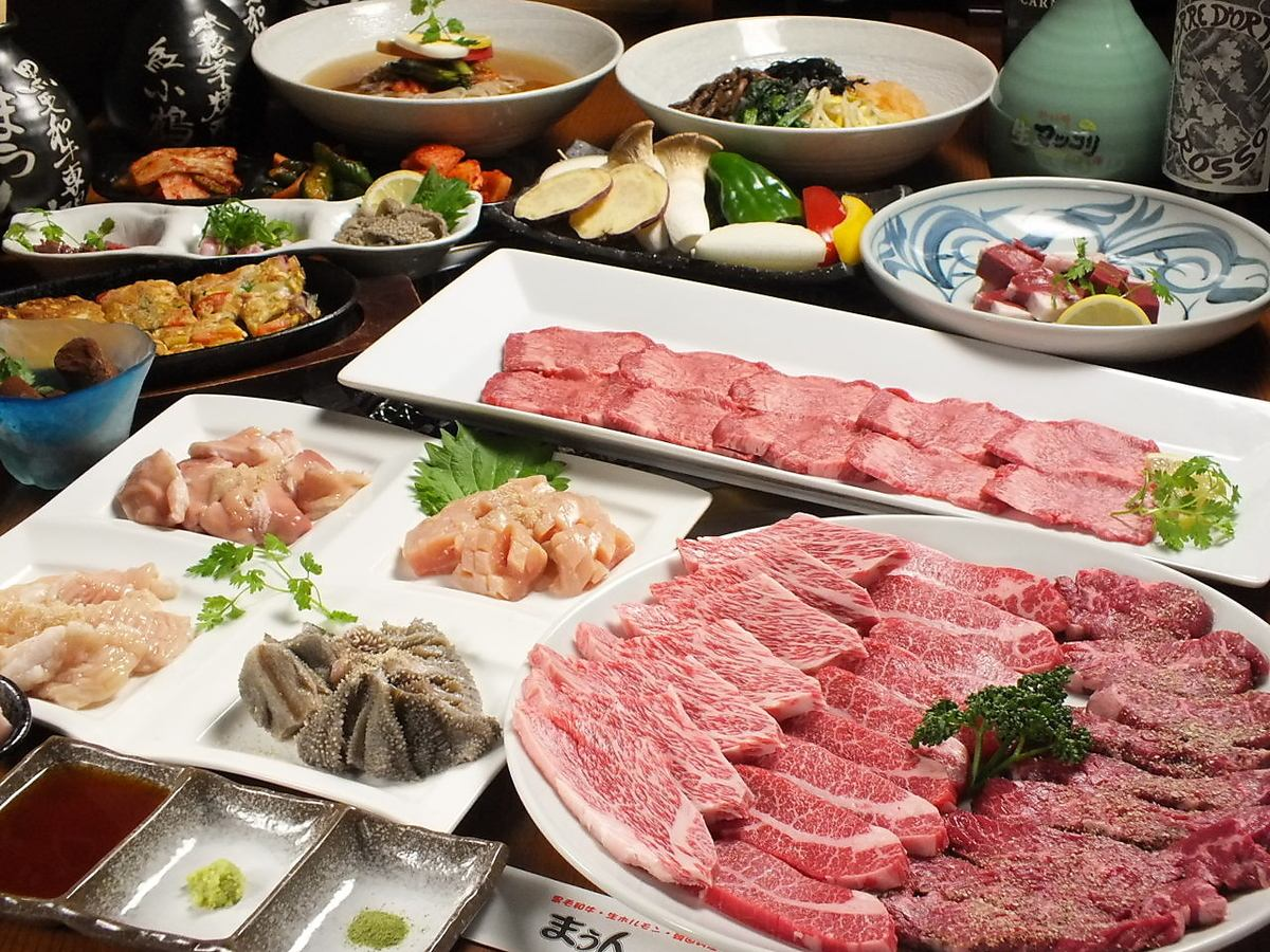 A5 grade domestic brand beef is the price of surprise! Finest meat in the top seafood meals a! ♪ during your reservation acceptance