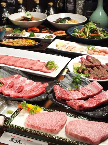 """[Height of luxury] Maung specialties grilled meat course """"very"""" [very best]"""