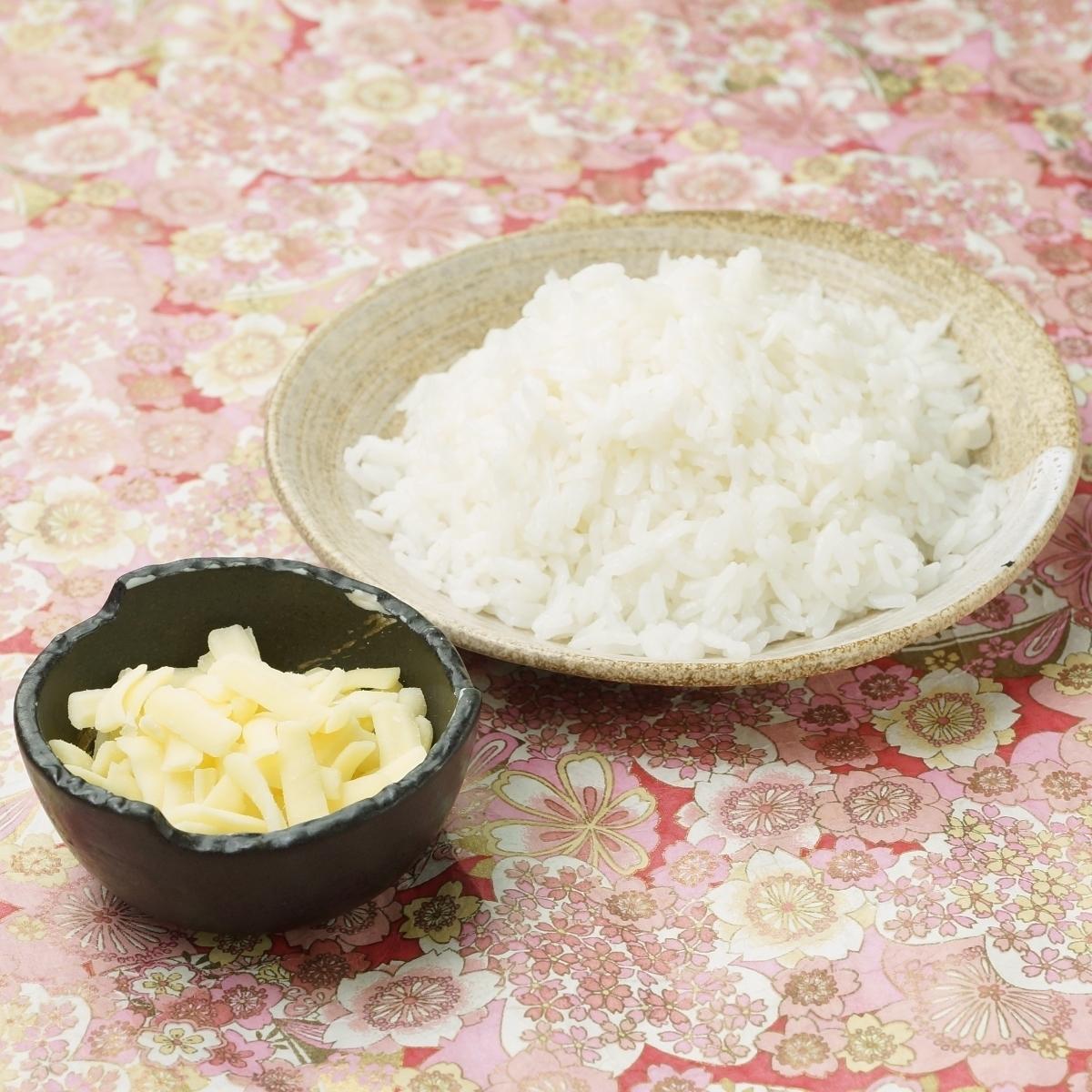チーズリゾット白ご飯