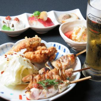Seto bird set (your favorite drink + plenty + zombie + 3 yakitori)