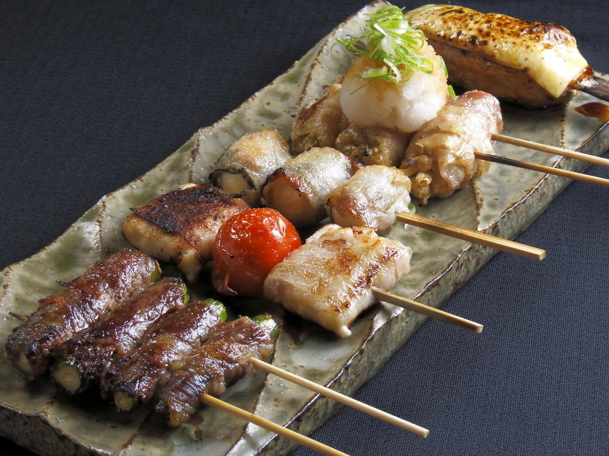5 varieties of assorted platter