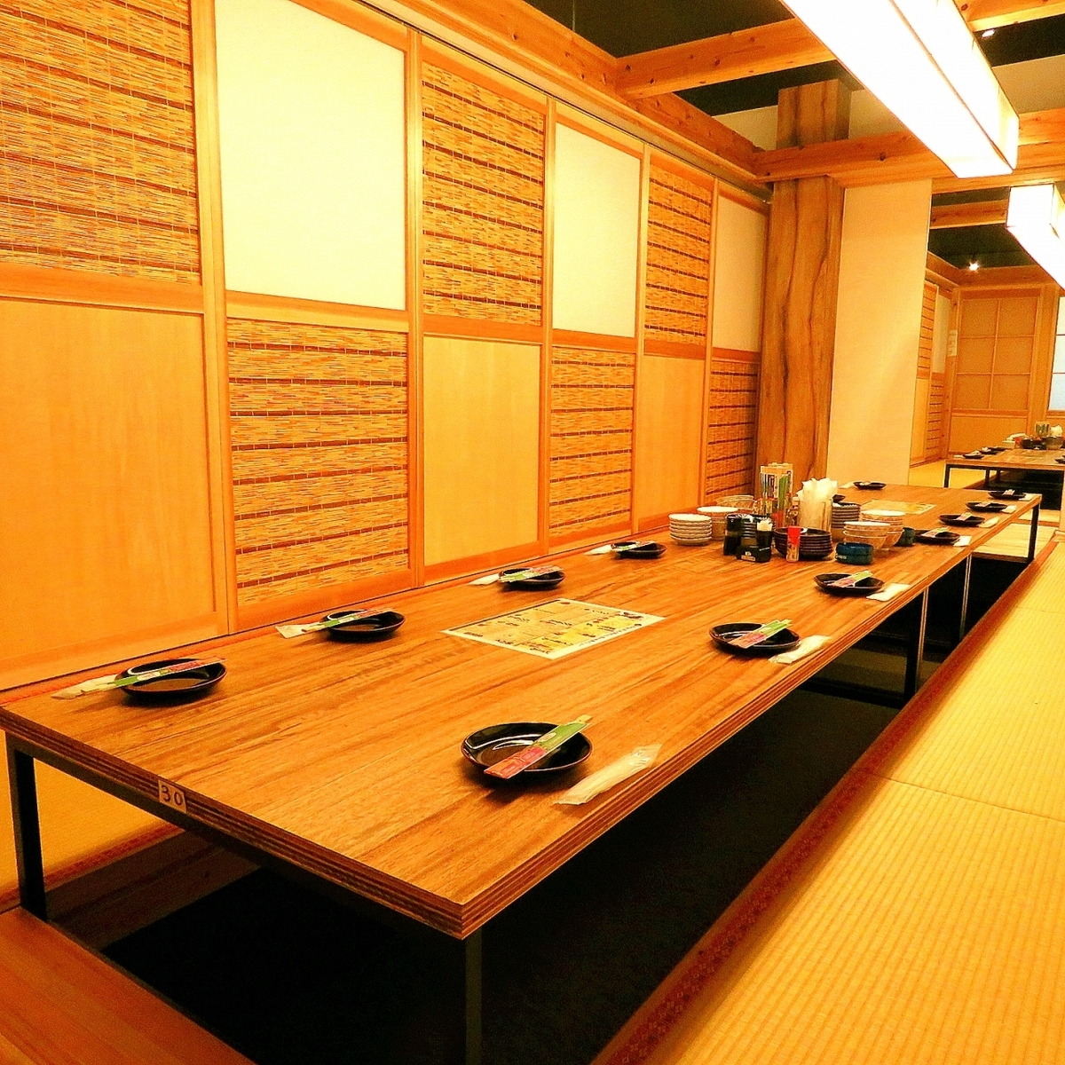 The Japanese are tatami after all.Relaxing private space ♪