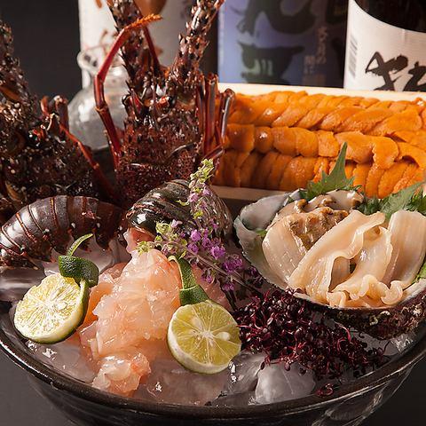 ◆当店おすすめメニュー◆豪華海鮮お刺身盛り合わせ