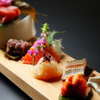 Assorted sashimi 5 kinds