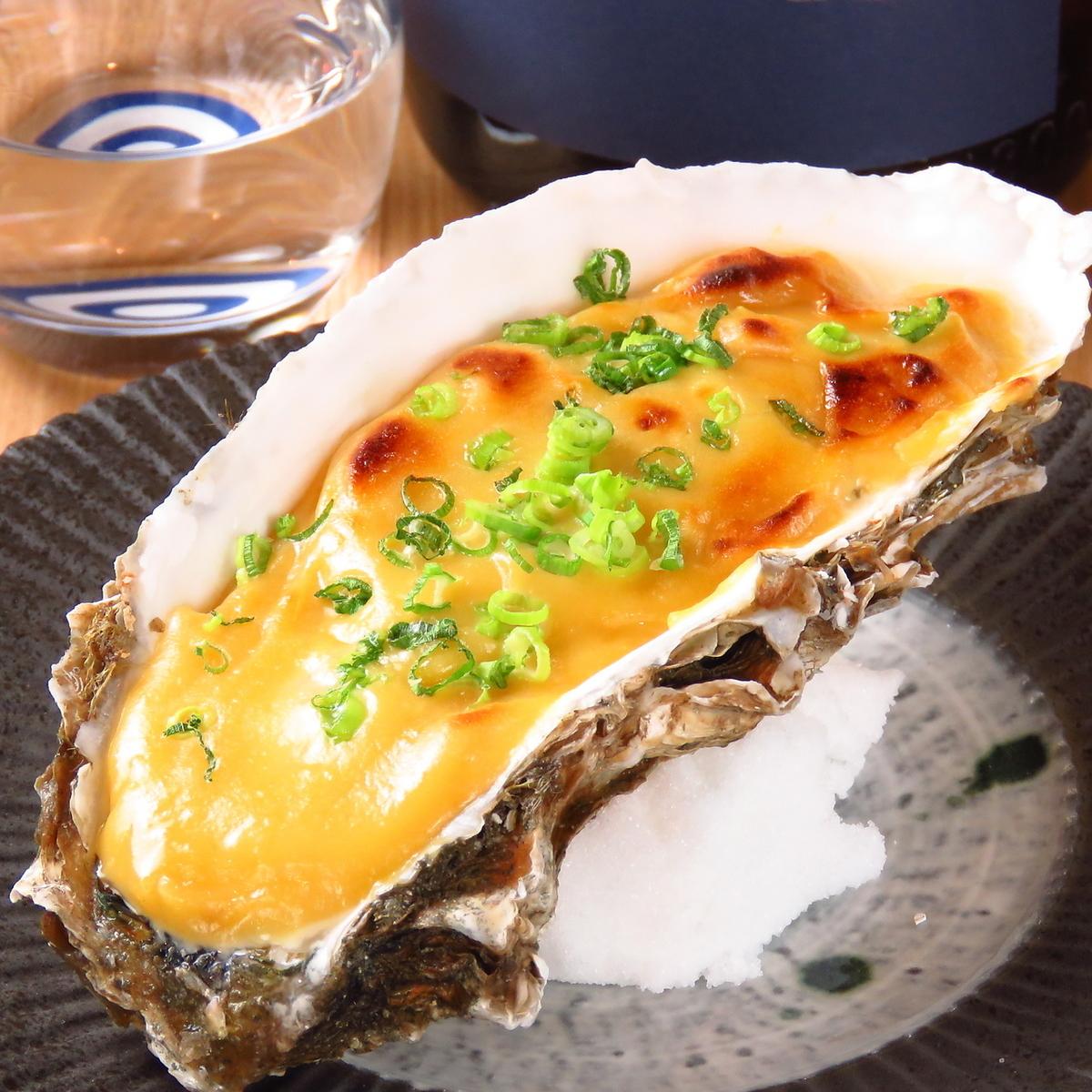 牡蠣(生・蒸し・玉味噌焼き)