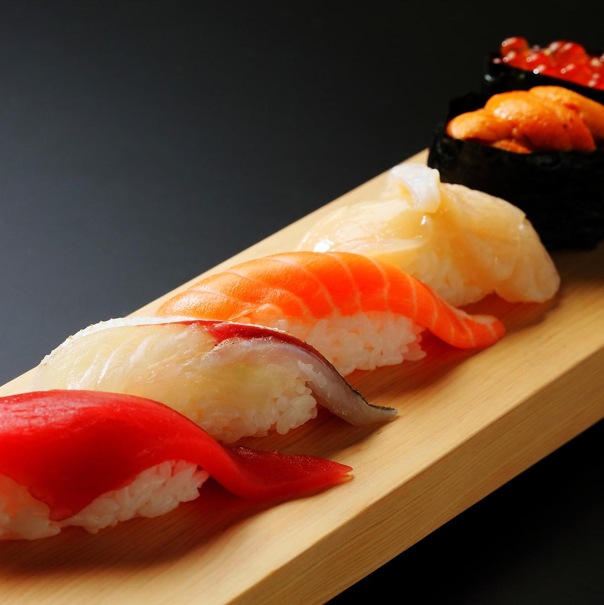 おまかせ寿司 9貫