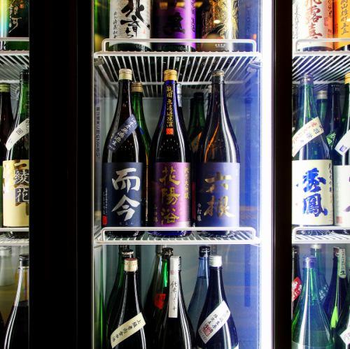 日本酒の品揃いは道内随一