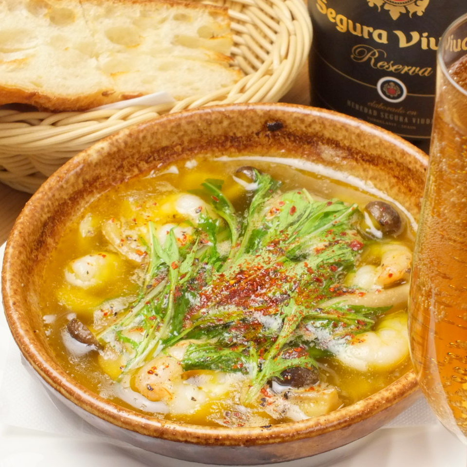 虾和蘑菇ahijo