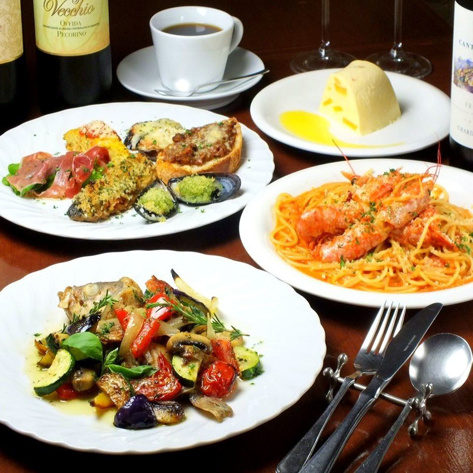 """Opened in 1995 ◆ Italian cuisine in the 20th year """"LAZIO"""" Store that has a taste to the extent of years"""