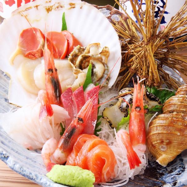 """""""Assorting the best delicious fish at that time ♪"""" Assorted seafood Chef's Omakase 1280 yen (tax excluded) ~"""