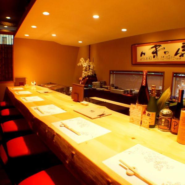 自己一樓的廚師壽司專櫃精心挑選好高知縣生產厚單板的。約會和各種令人愉悅的宴會和娛樂的工作後◎