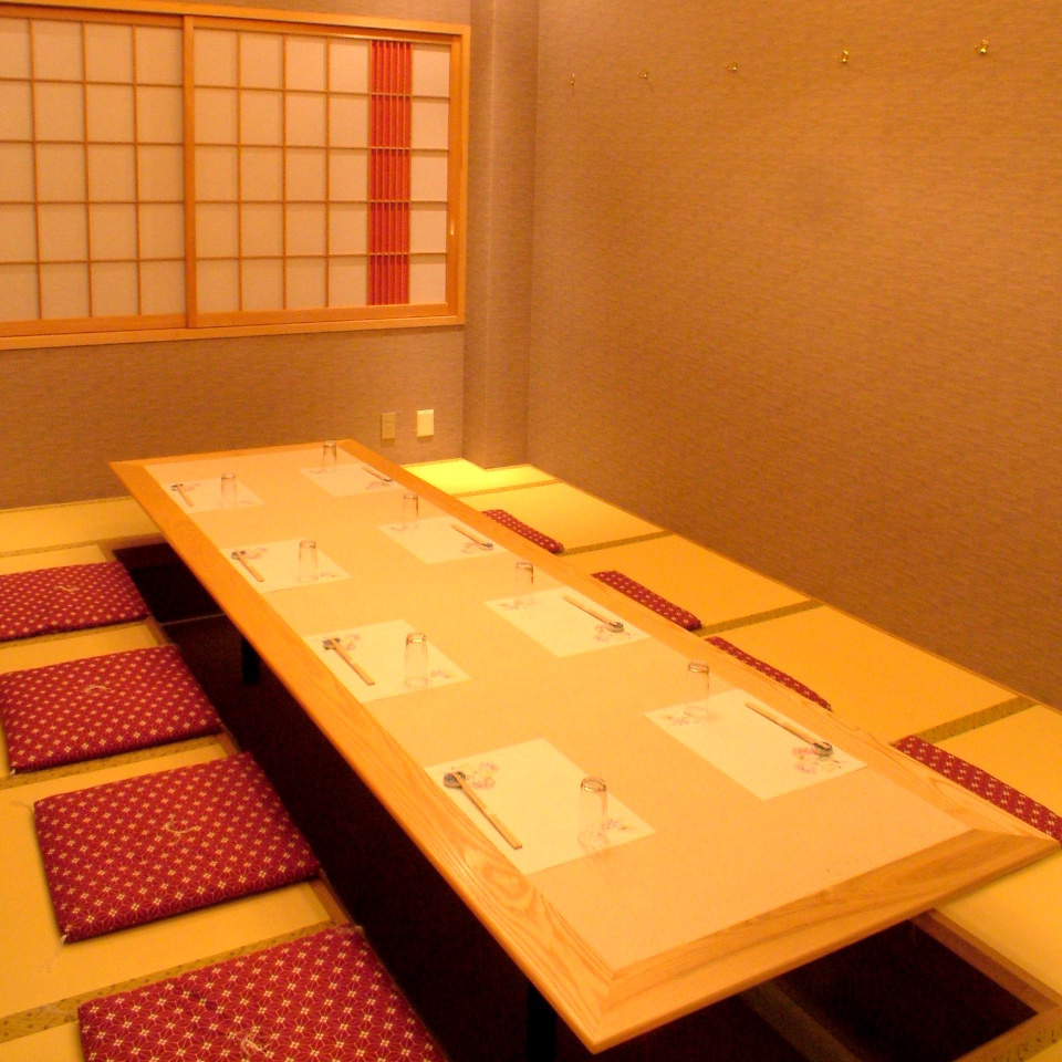 A dining room that relaxes and relaxes slowly.Up to 10 people OK.※ We will use it for more than 5 people.