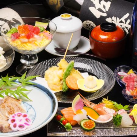 ■ Yunnan Kaiseki total 8 items 4000 yen (tax excluded) - Special meeting with Awa beef, Awa pork as the main item -