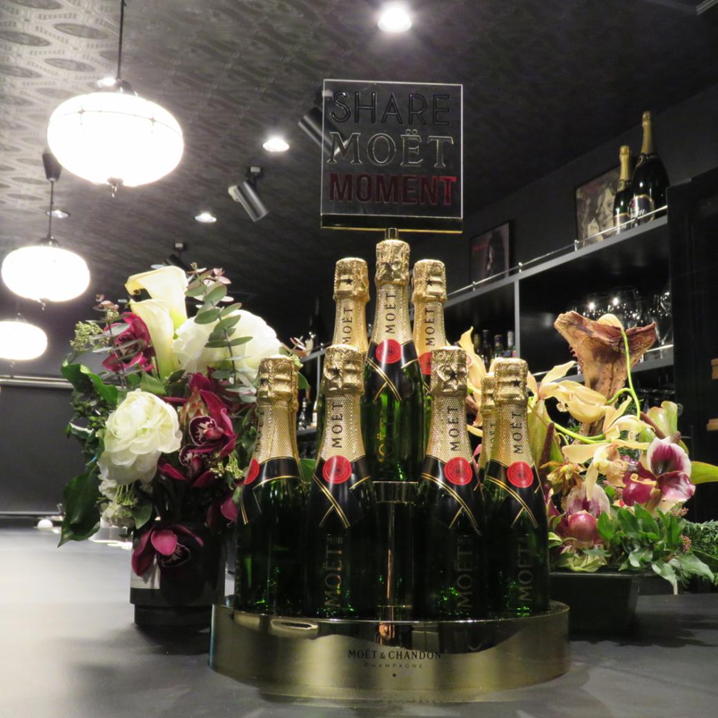 オーガニックワインやシャンパンを豊富にご用意しています!