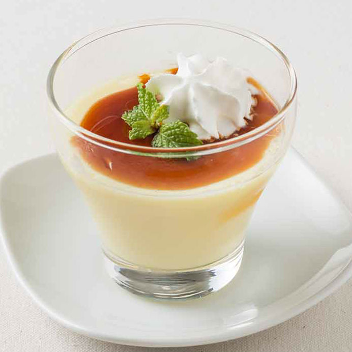 Old-fashioned handmade pudding / Annin tofu