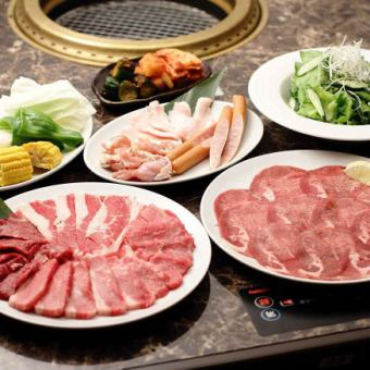 Small Banquet / Family! «Variety Set» 4000 yen