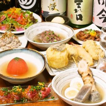 [选择菜单谭!!鞑靼牛肉,肉寿司]肉天堂大满意当然◆9菜肴4000日元