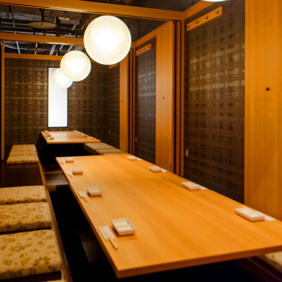 Company banquet, sightseeing etc Recommended for groups Private room / 12 ~ 34 people