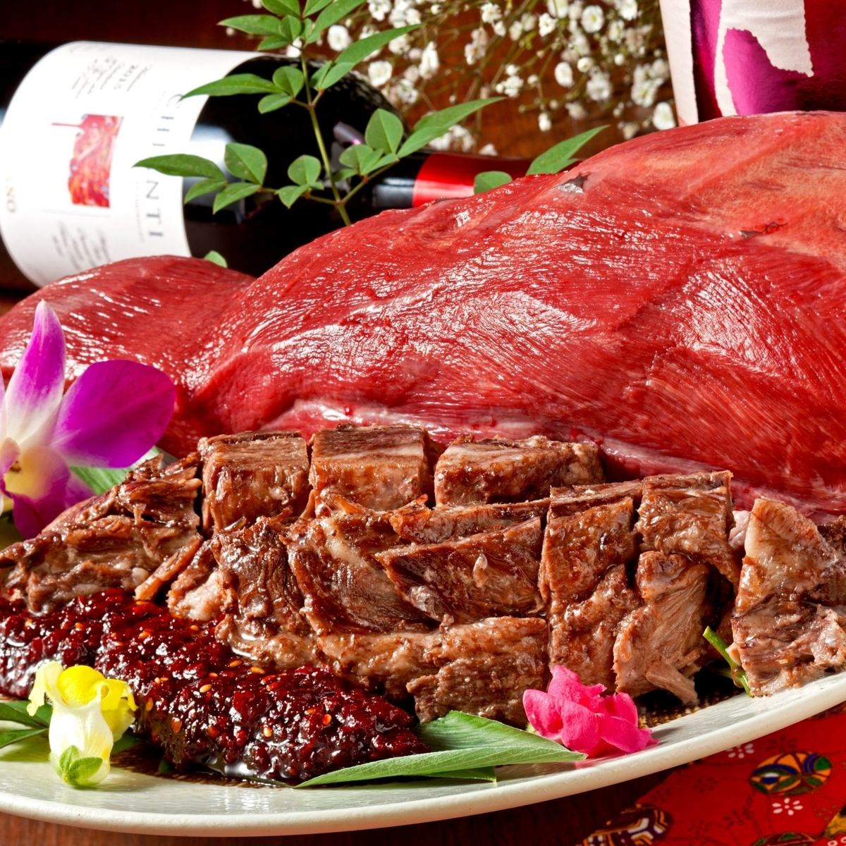 Meat plenty of meat! Compatibility with beer ♪ ♪