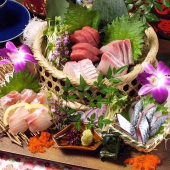 Itoshima available upon sashimi platter number of people [1] servings