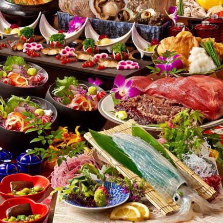 [三月四月五月] 150分鐘的所有你可以喝盛宴5000日元當然,所有11菜餚5000日元(含稅)[包房和宴會]的高度
